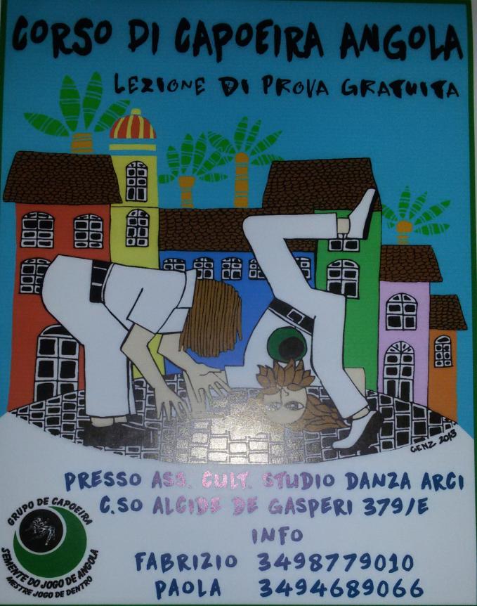 Lezione prova di Capoeira de Angola