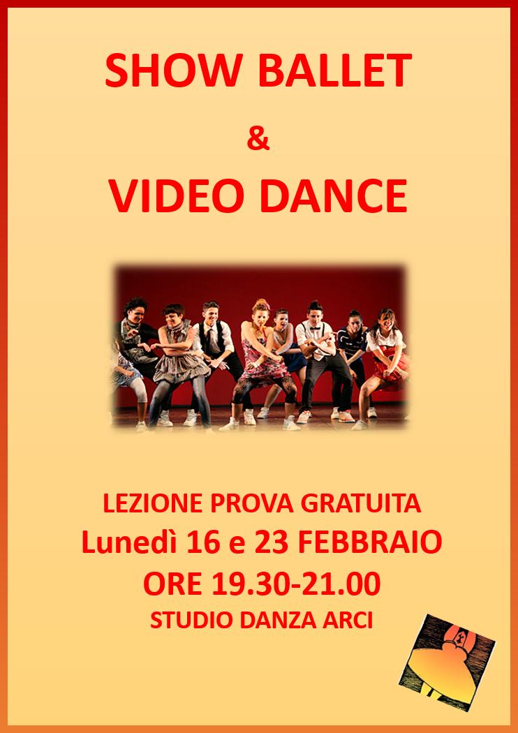 Lezione prova: Show Ballet e Video Dance