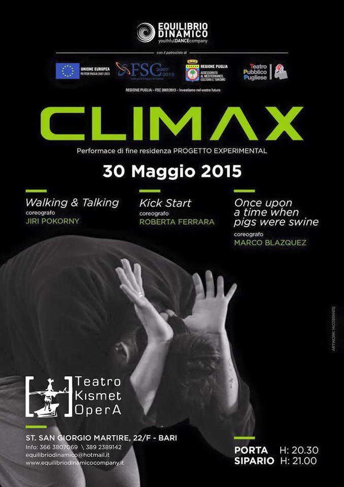CLIMAX – Progetto experimental