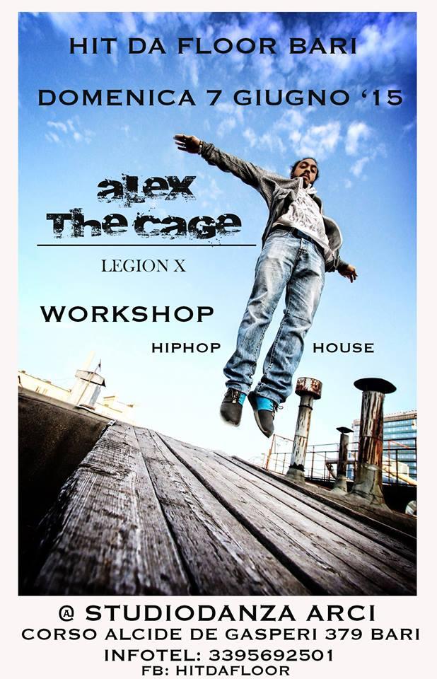 Alex The Cage a StudioDanza