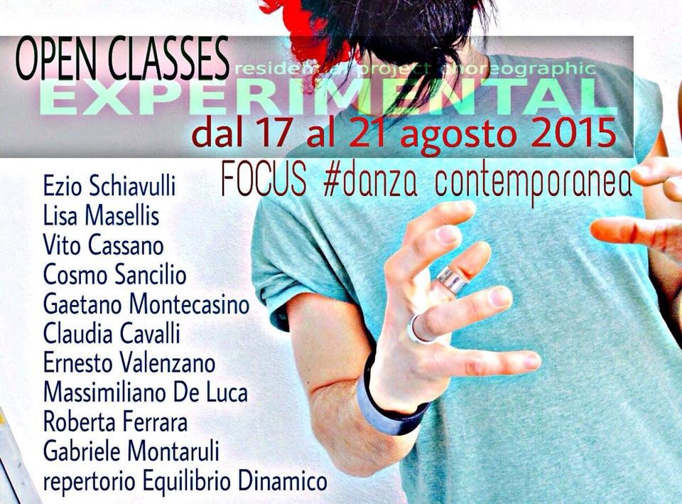Tutta la #danzacontemporanea che vuoi!! 17-21 Agosto