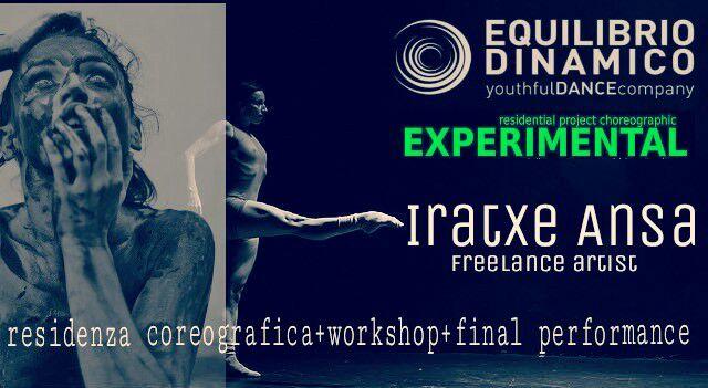 IRAXTE ANSA , dal 2 al 7 febbraio a Studio Danza