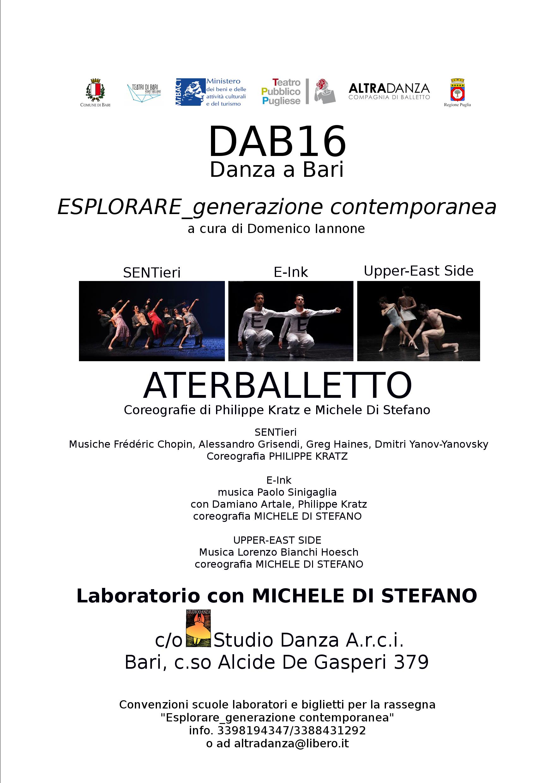 DAB16 Laboratorio con Michele di Stefano